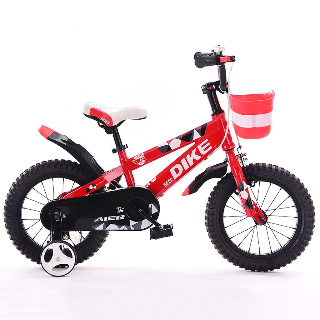 Fenfen Children 's Bicycles 12 /14 /16 /インチ2 – 5-8 Years Old Boys and Girls子供自転車Tricycleレッド B07DPPZ63N   12inches
