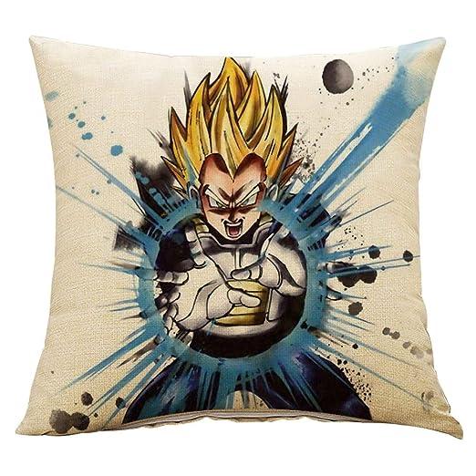 ALTcompluser Anime Dragon Ball Funda de Cojín Son Goku ...