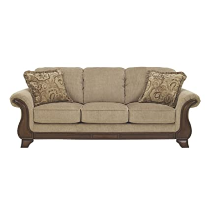 Amazon Com Ashley Furniture Signature Design Lanett Sofa 3 Seat