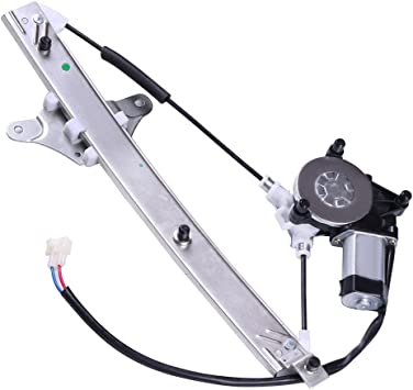 741-708 6982006021 6980206011 Front Left Driver Side Power Window Regulator with Motor Compatible for 1992-1996 Toyota Camry