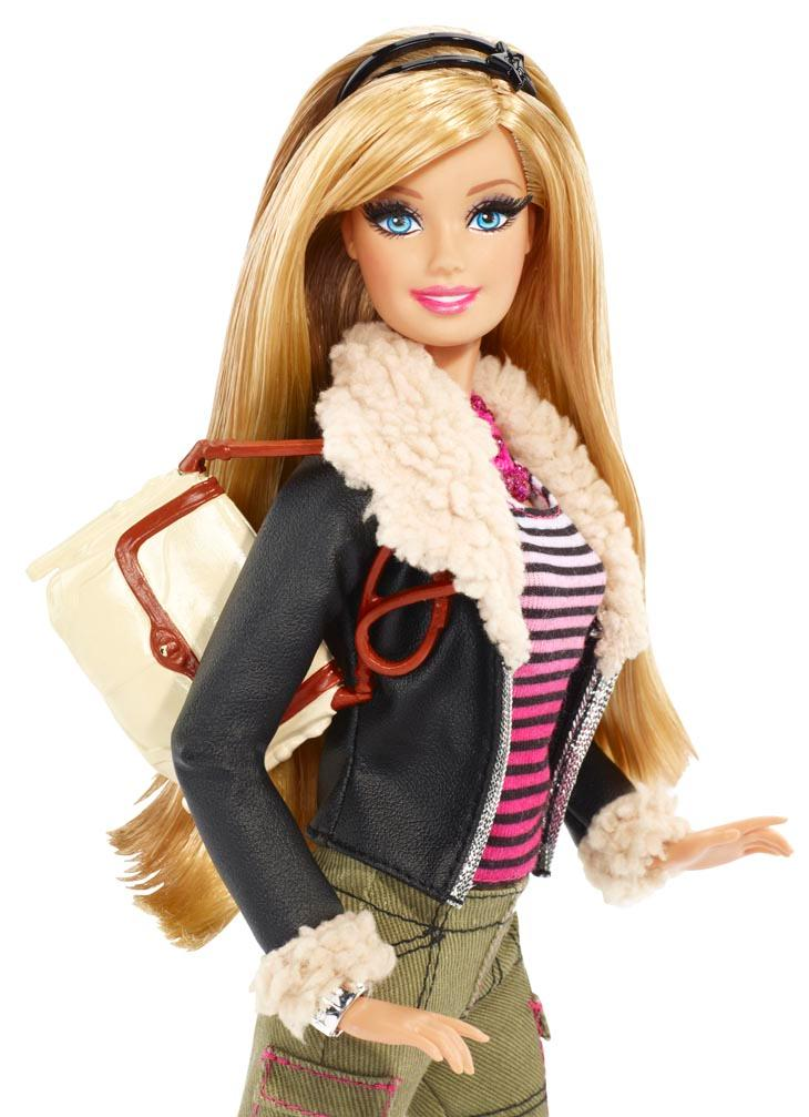 Barbie Style Leather Jacket Barbie Doll Toys Games