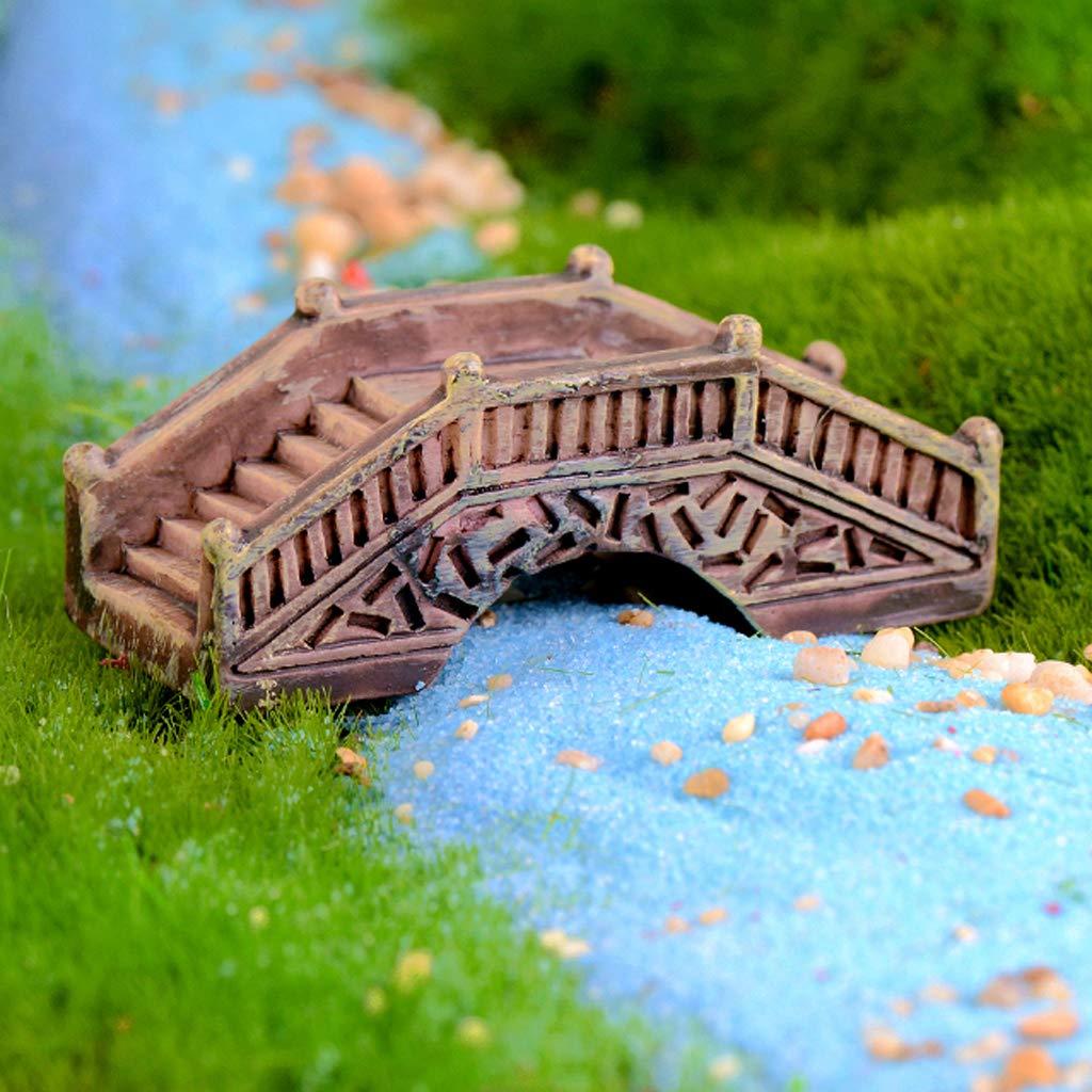 Sharplace 10 St/ück Micro Landschaft Garten Naturstein Gehweg gerader Treppe Puppenhaus DIY