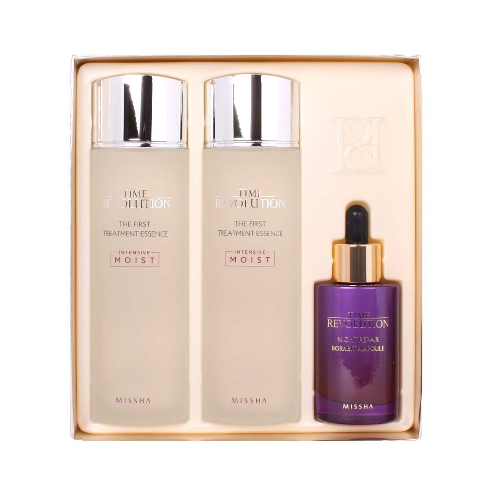 Missha Time Revolution Best Seller Set Special Edition The First Treatment Essence Intensive Moist Beauty