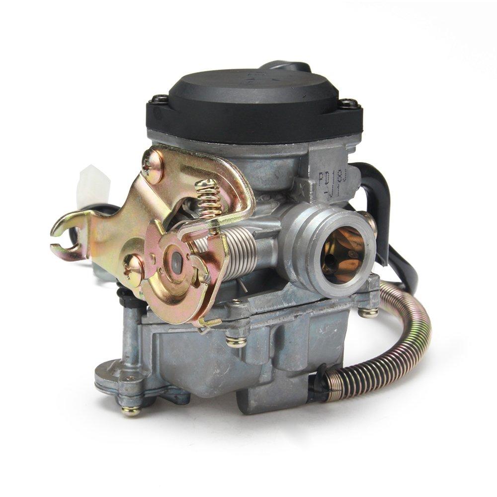 JFG Racing 18mm Motorcycle Keihin CVK PD18J Carb Carburetor for 4