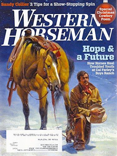 Roping Stirrup - Cal Farley's Boys Ranch * Treasure State Horses * World Series of Team Roping * Nettles Stirrups * December, 2014 Western Horseman Magazine
