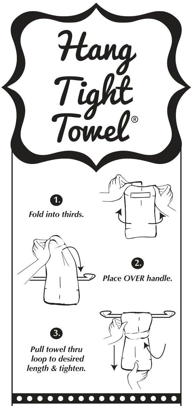 White Bar Towel Twisted Wares Hand Towel Funny Bathroom Towel Terry Cloth with Hang Tight Loop Welcome to The SHTSHOW