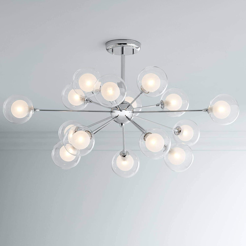 Possini Euro Design Glass Sphere 15-Light Ceiling Light