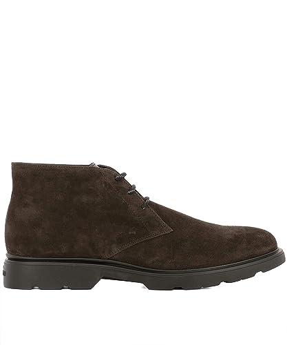 HOGAN HXM3930W352JCG1117 Hombre Marrón Gamuza Botines: Amazon.es: Zapatos y complementos