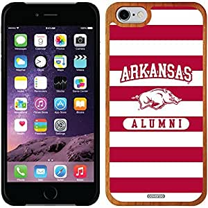 fashion case iphone 4s Madera Wood Thinshield Case with Arkansas Alumni 2 Design