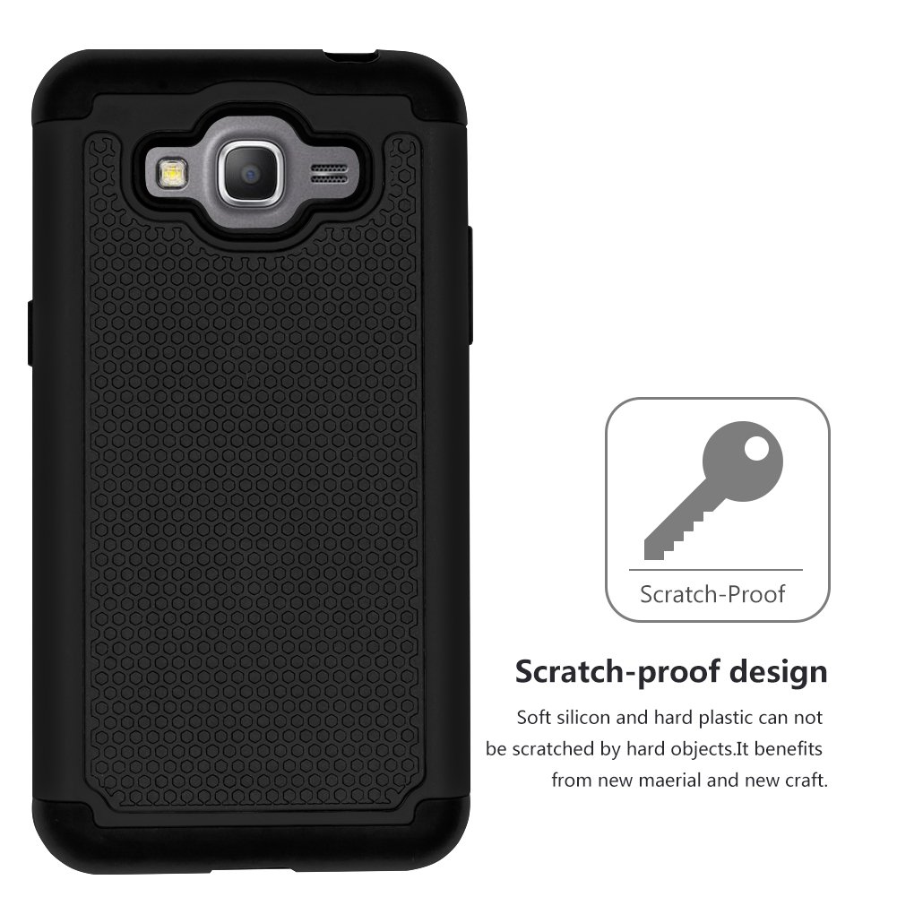 Galaxy J2 Prime Casegalaxy Grand Plus Caseanli Case Oppo Jelly Caseanlitmshock Absorption Drop Protection Hybrid Dual Layer Armor Protective Cover For