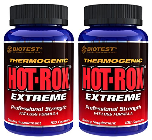 Hot-Rox® Extreme, 2 Pack (200 Capsules) by Biotest (Image #3)