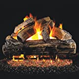Peterson Real Fyre 30-inch Split Oak Gas Log Set With Vented Natural Gas G4 Burner - Manual Safety Pilot
