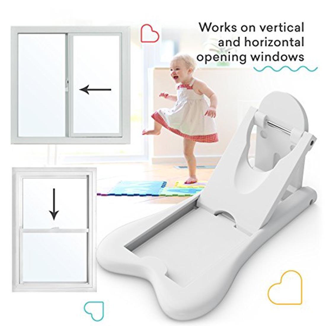 frisch verrous de porte coulissante pour bébé Épreuvage   sans clé serrures  de sécurité pour enfant pour terrasse, placards, portes coulissantes,  volets, ... 3f3359c4609