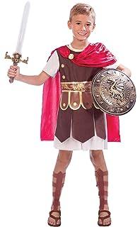 amscan - Disfraz de Gladiador Romano para niño: Amazon.es ...