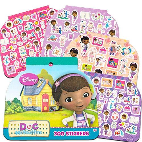 Doc McStuffins Party Favors Stickers Pack -