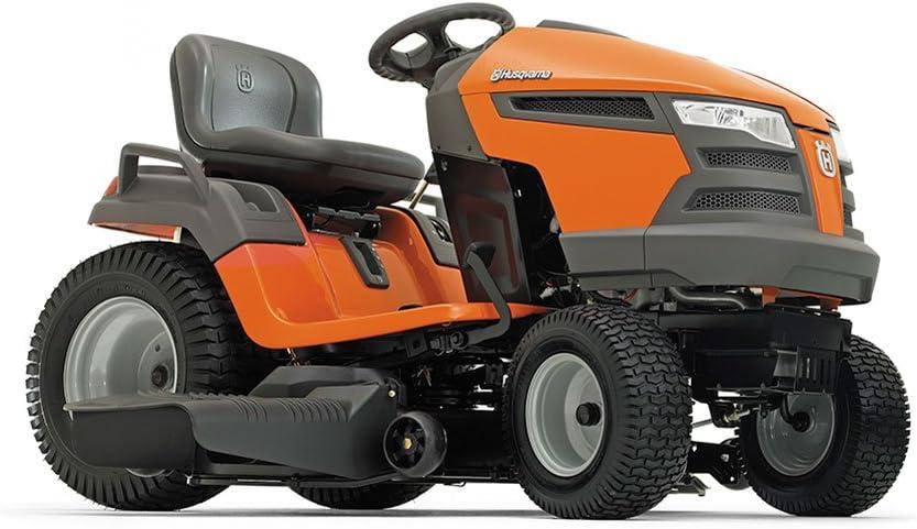 Husqvarna 960430211 YTA18542 18.5-HP Transmission Pedal Fast Riding Lawn Mowers