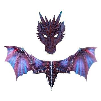 Amazon.com: Kiar - Disfraz de dinosaurio de Halloween ...