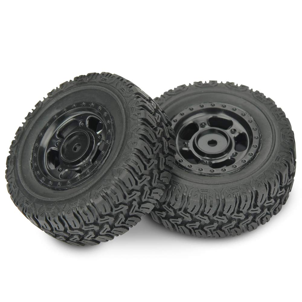 2 Pieces HAIBOXING RC Cars Ratchet 1:18 Scale Spare Parts Apply for 18856 Wheel Complete 18204