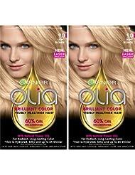 Garnier Hair Color Olia Oil Powered Permanent, 9.0 Light...