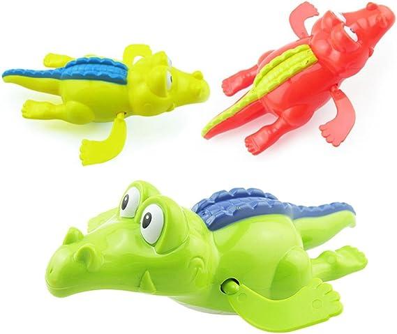 Toyvian Piscine /À remonter Baignoire Jouets Animaux Crocodile Baignoire Baignoire Jouer M/écanisme /À Jouer Jouet Enfant /Éducatif Eau Jouets
