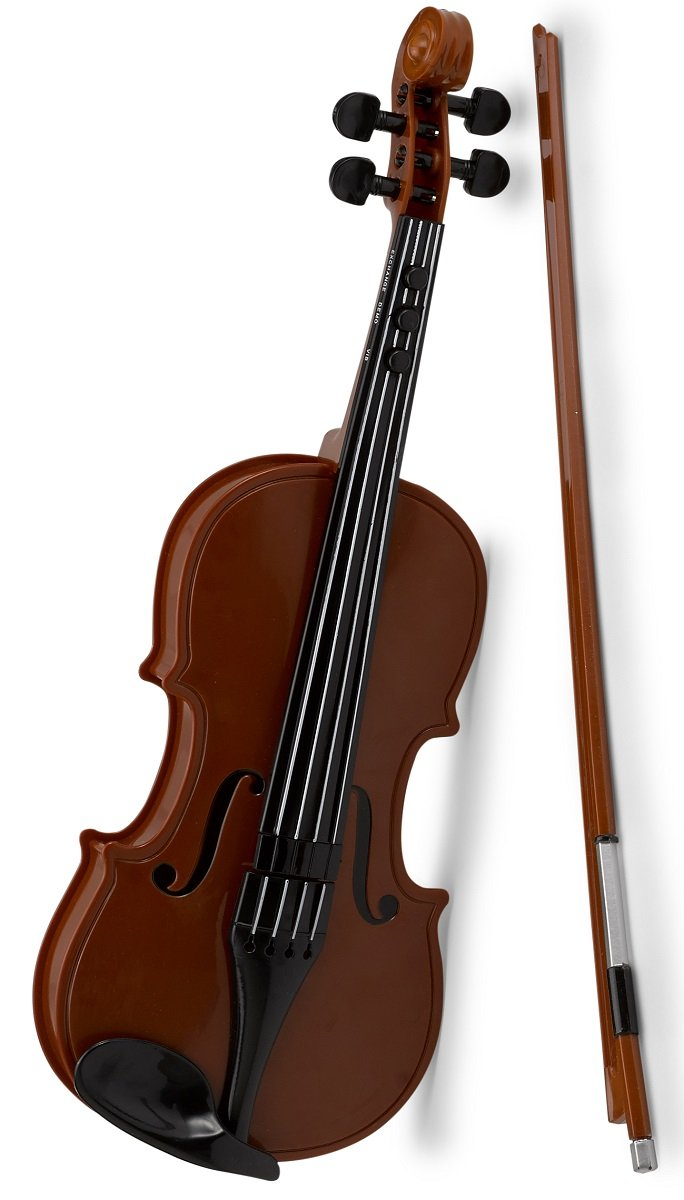 Electronic Violin Toy – Cool and Fun Wooden Style Musical Instrument Toys for Kids – Great Educational Gift, Musical Toys, Gift Ideas.