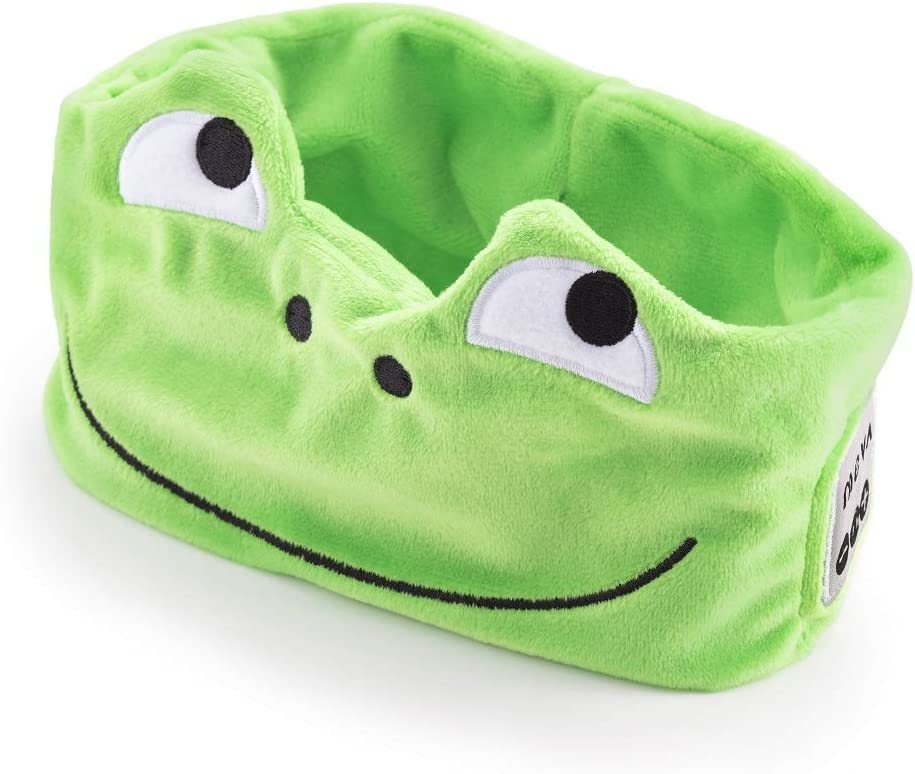 Wireless Headphones Bluetooth Headband for Kids - Soft and Cozy Cartoon Earphones for Children - Frog