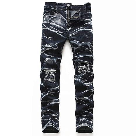 Pantalones vaqueros para hombre Pantalones vaqueros nuevos ...