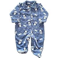 Macacão de Inverno Bebê - Pijama Bebê de Soft Quentinho - Roupa de Frio Bebê