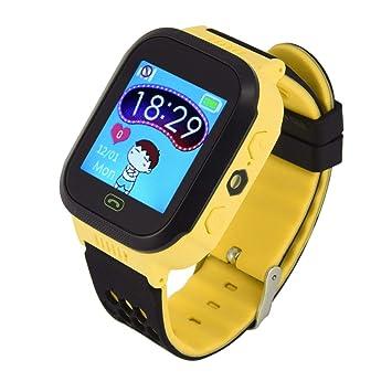 Estación Base niños Reloj Inteligente GPRS Posicionamiento Touch Screen Alarma SOS