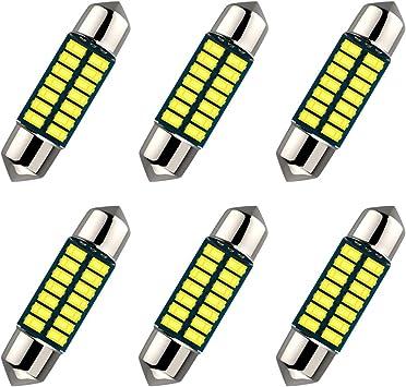 24 SMD 3014 Chipsets 3175 LED Bulbs for Interior Light,Car Light ...