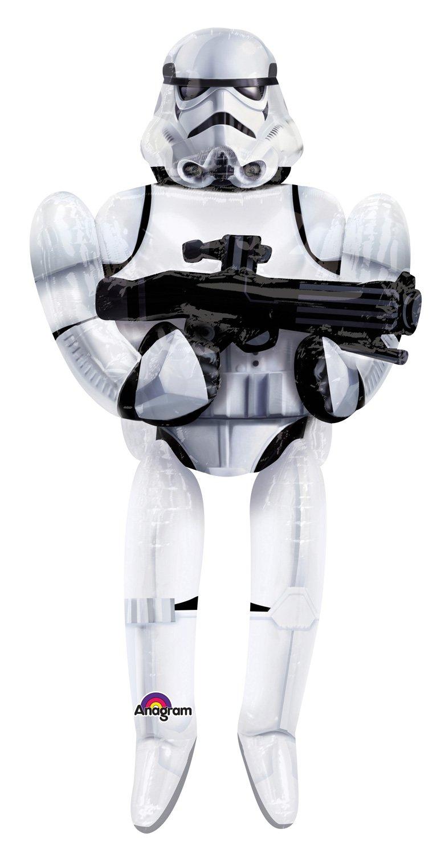Star Wars Storm Trooper Airwalker Balloon 70 Anagram Mayflower 3040101