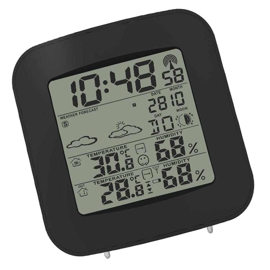 MagiDeal Prévision De Station Météo Numérique Sans Fil / Thermomètre D'humidité Extérieur