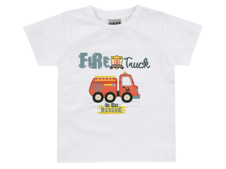 Basic Line Gr/ö/ße: 128 Jacky T-Shirt f/ür Jungen 6521918 Graumelange Alter: 8 Jahre