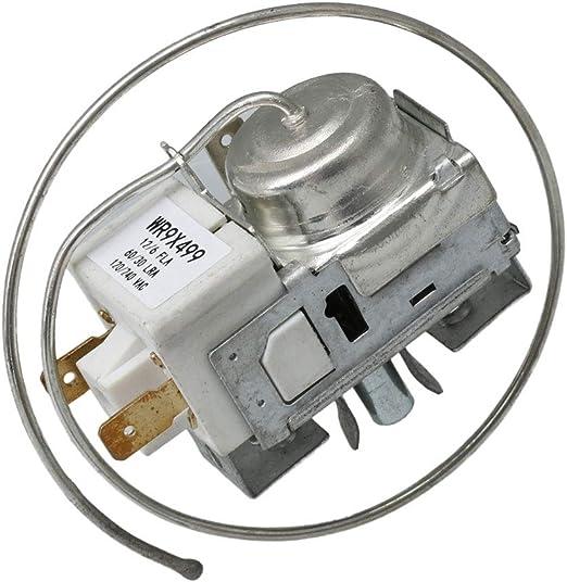 BQLZR WR9X499 control de termostato para congelador, repuesto para ...