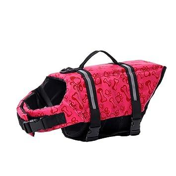 POPETPOP Pop etpop Perros, flotador - Chaleco salvavidas para perros, ajustable perro Salvavidas, tamaño S (Rosa): Amazon.es: Productos para mascotas