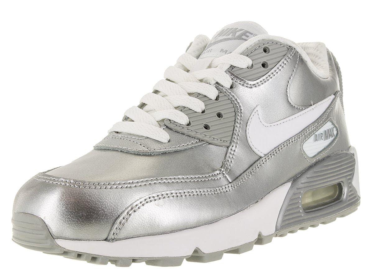 Nike Air Max 90 PREM GS Metallic Silver