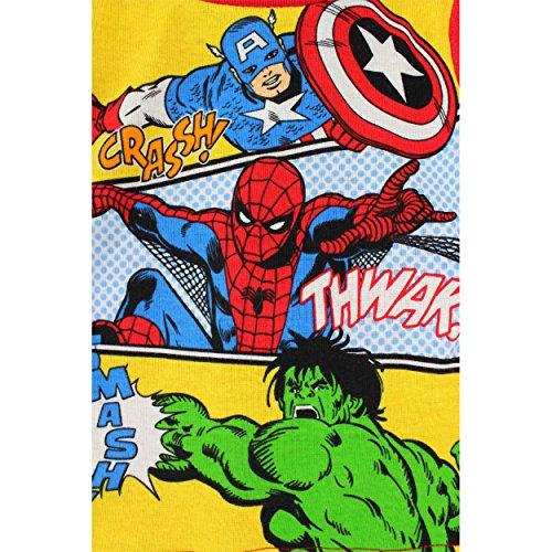 Captain America Hulk Spider-Man Baby Toddler Cotton Pajamas (3T)