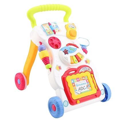 lauflernhilfe para bebés con caracteres Pizarra, Piano y ...