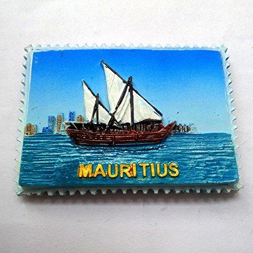 mauritius fridge magnet - 6
