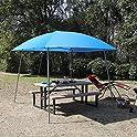PHI VILLA Pop-up 8' x 8' Slant Leg Canopy Tent for Camping