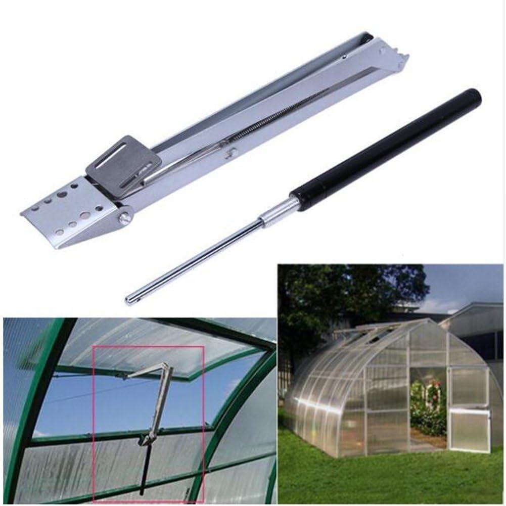 Acero al carbono automático abridor de ventana de invernadero agrícola, solar ventana sensibles al calor automático ventana de ventilación abridor, abridor de techo Set hogar herramienta: Amazon.es: Jardín