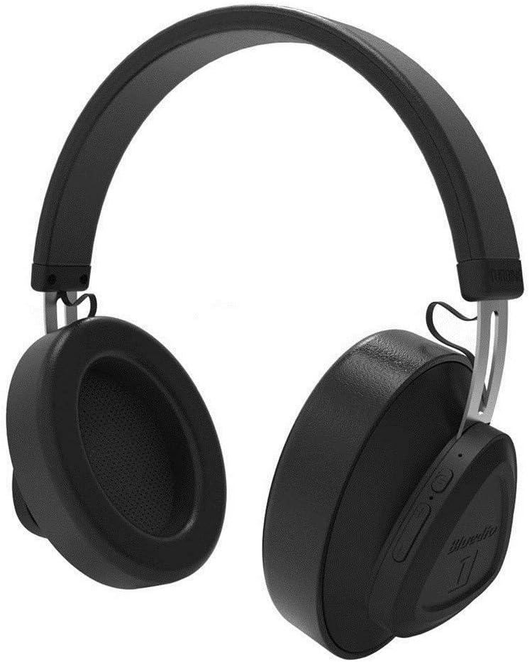 Auriculares inalámbricos Bluetooth con micrófono y auriculares inalámbricos sobre la oreja