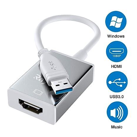 Amazon com: USB 3 0 to HDMI, USB to HDMI 1080P HD Display