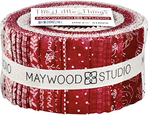 Robin Kingsley The Little Things Strips 40 2.5-inch Strips Jelly Roll Maywood (Honey Bee Craft Scissors)