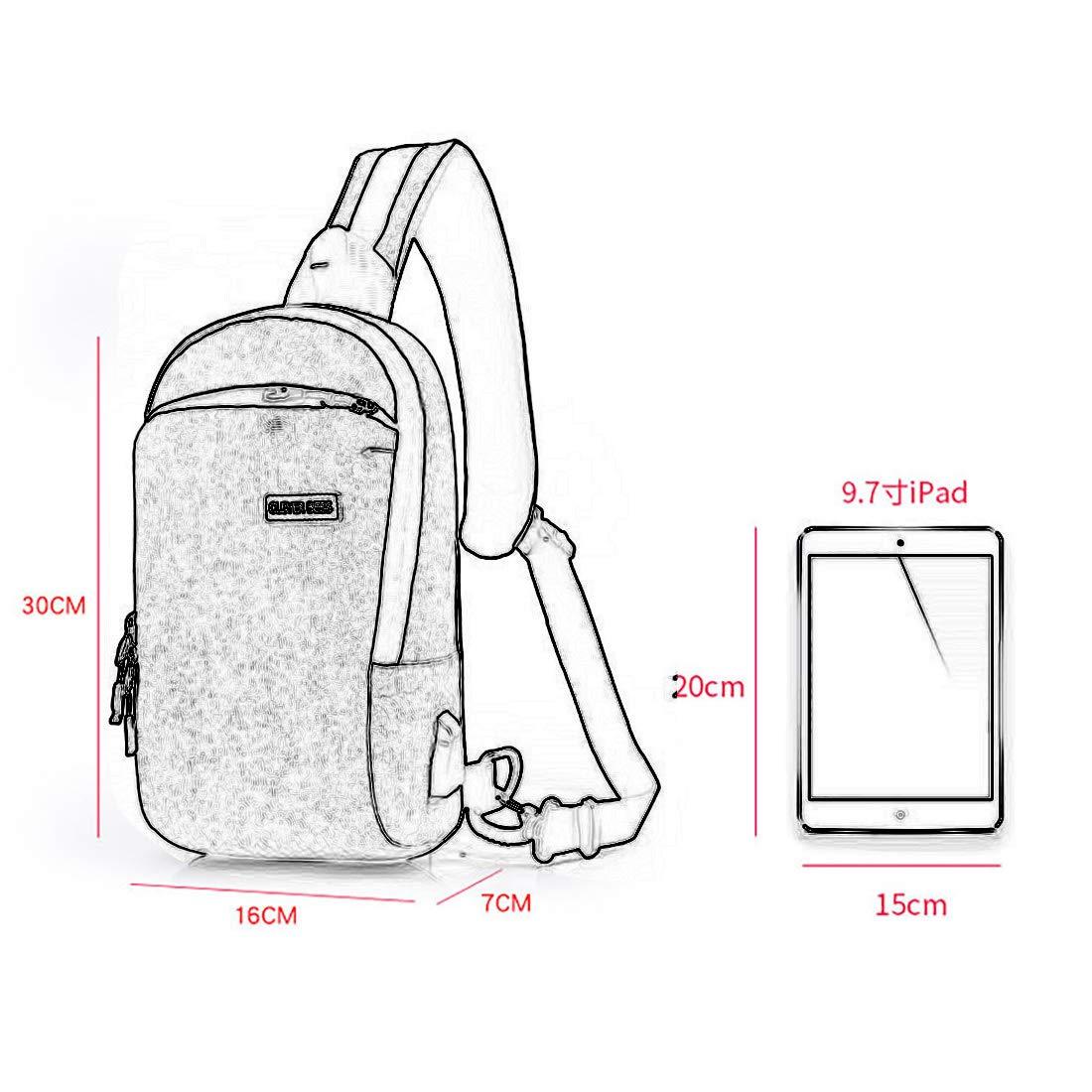 Sling Bag Backpack Chest Shoulder Pack Daypacks Outdoor Crossbody Backpacks