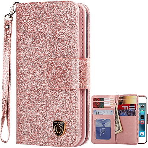BENTOBEN Sparkle Glitter Leather Protective