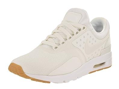 Nike Air Max Zero Women's Running Shoes, Sail/Sail/Gum Light Brown,