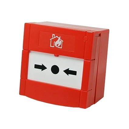 Disparador manual de alarma de incendios: Amazon.es ...