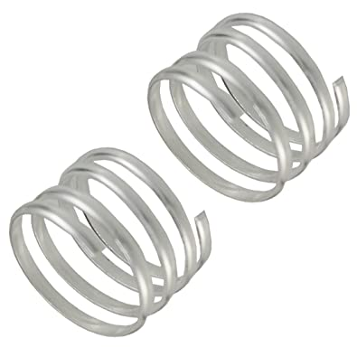 buy spiral spring dp silver toe adjustable plated twist ring rings