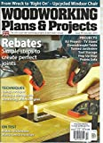 WOODWORKING PLANS & PROJECTS, OCTOBER 2014, ISSUE 99